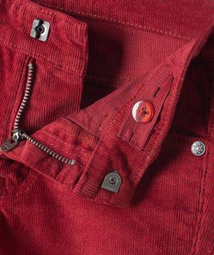 Pantalon garçon 5 poches en velours côtelé vue2 - GEMO (ENFANT) - GEMO