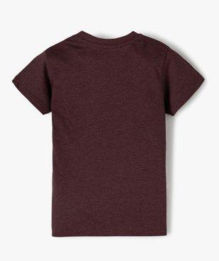 Tee-shirt fille motif fantaisie football vue3 - GEMO (ENFANT) - GEMO