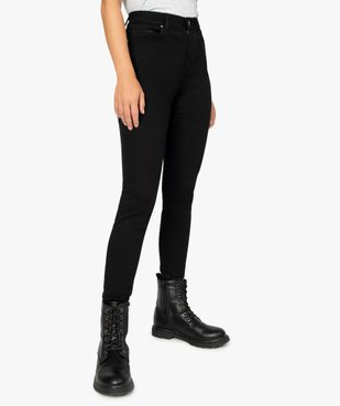 Jean femme coupe skinny taille haute vue1 - GEMO(FEMME PAP) - GEMO