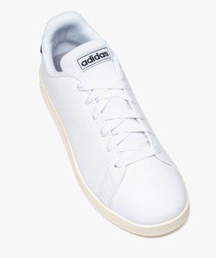 Baskets femme unies à lacets – Adidas Advantage K vue5 - ADIDAS - GEMO