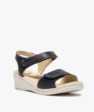 Sandales femme confort à brides ajustables – 5 Zones vue2 - 5 REFLEX ZONES - GEMO