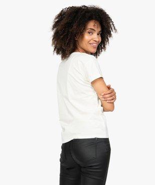 Tee-shirt femme oversize à motif Snoopy - Peanuts vue3 - SNOOPY - GEMO
