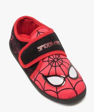 Chaussons garçon bicolores Spiderman à scratch vue5 - SPIDERMAN - GEMO