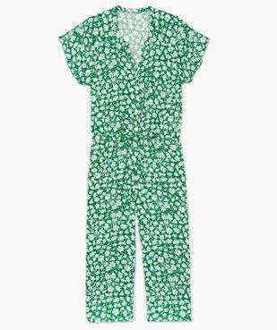 Combinaison femme à motifs fleuris vue4 - GEMO (G TAILLE) - GEMO