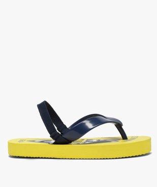 Tongs garçons semelle imprimée surf et bride élastiquée vue2 - Nikesneakers (ENFANT) - Nikesneakers