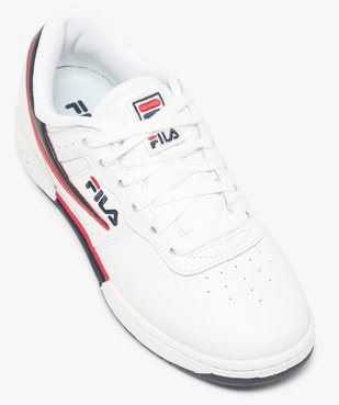 Baskets femme  avec empiècements bicolores - Fila vue5 - FILA - Nikesneakers