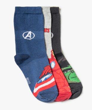 Chaussettes garçon  à motifs Avengers (lot de 3) - Marvel vue1 - MARVEL DTR - GEMO