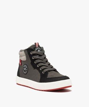 Boots garçon à semelle contrastante et col rembourré vue2 - Nikesneakers (ENFANT) - Nikesneakers