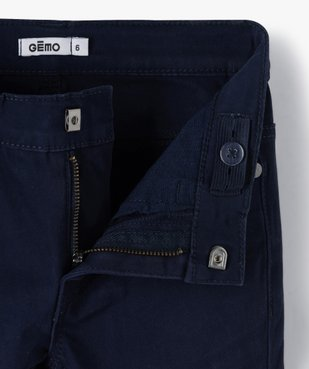 Pantalon garçon coupe skinny en toile extensible vue2 - Nikesneakers (ENFANT) - Nikesneakers