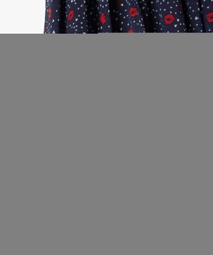 Jupe fille en voile imprimé – Lulu Castagnette vue3 - LULUCASTAGNETTE - GEMO