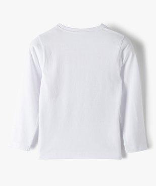 Tee-shirt garçon à manches longues avec motif basket vue3 - GEMO (ENFANT) - GEMO