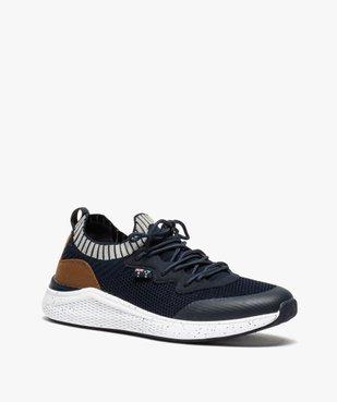Baskets homme style chaussettes à lacets - Roadsign vue2 - ROADSIGN - GEMO