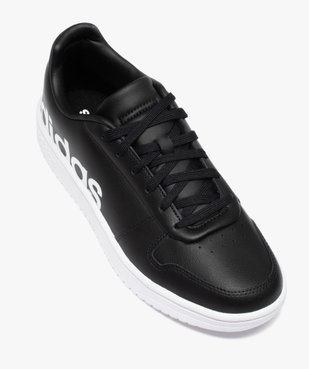 Baskets homme unies à lacets – Adidas Hoops 2.0 vue5 - ADIDAS - GEMO