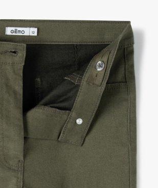 Pantalon fille coupe Ultra Skinny taille haute vue2 - GEMO (JUNIOR) - GEMO