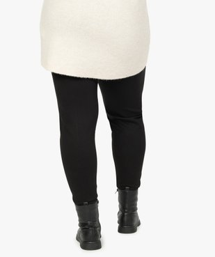 Pantalon femme avec bas zippé vue3 - GEMO (G TAILLE) - GEMO