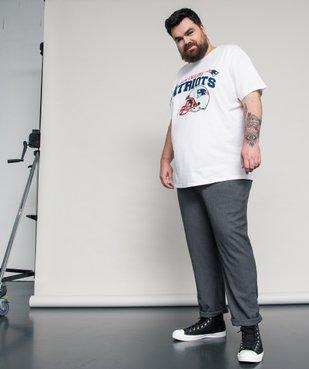 Tee-shirt homme imprimé football amércain - Team apparel vue6 - NFL - GEMO
