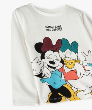 Tee-shirt fille à manches longues imprimé - Disney vue2 - DISNEY DTR - GEMO