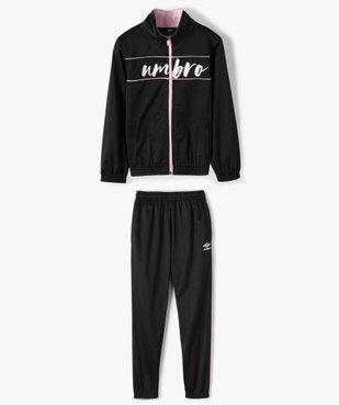 Survêtement fille 2 pièces : sweat zippé + pantalon - Umbro vue1 - UMBRO - GEMO