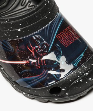 Mules garçon tachetée imprimée Darth Vader - Star Wars vue6 - STAR WARS - GEMO