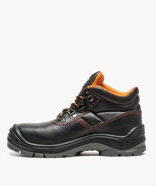 Chaussures de sécurité montantes S3 vue3 - GEMO (SECURITE) - GEMO