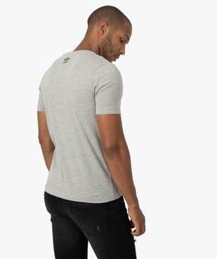 Tee-shirt homme imprimé à manches courtes - Umbro vue3 - UMBRO - GEMO