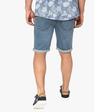 Bermuda homme en jean avec ceinture - Roadsign vue3 - ROADSIGN - GEMO