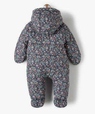 Combinaison pilote bébé avec pieds et moufles vue4 - GEMO(BB COUCHE) - GEMO