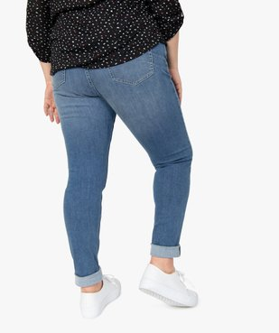 Jean femme slim gainant taille normale  vue3 - GEMO (G TAILLE) - GEMO
