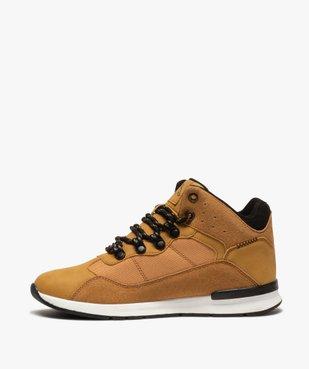 Baskets garçon mid-cut à lacets – Kappa Kensington vue3 - KAPPA - Nikesneakers