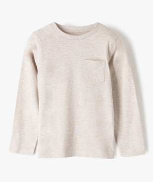 Tee-shirt garçon manches longues à poche poitrine vue1 - Nikesneakers C4G GARCON - Nikesneakers