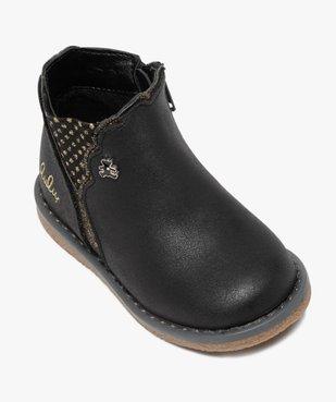 Boots bébé fille zippées à détails pailletés – Lulu Castagnette vue5 - LULU CASTAGNETT - GEMO