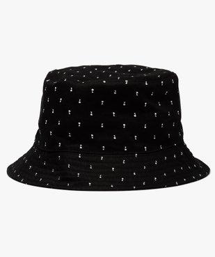Chapeau homme forme bob avec micro motifs vue1 - GEMO (ACCESS) - GEMO