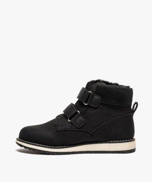 Boots garçon unis à col rembourré et doublure chaude vue3 - Nikesneakers (ENFANT) - Nikesneakers