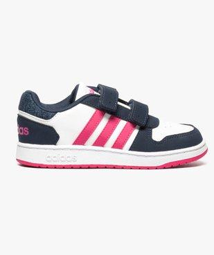 Basket bébé à tige basse tricolore - Adidas vue1 - ADIDAS - GEMO