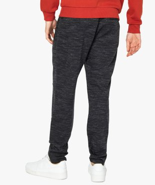 Pantalon homme en maille coupe ajusté vue3 - Nikesneakers (HOMME) - Nikesneakers