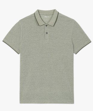 Polo homme à manches courtes avec finitions fantaisie vue4 - Nikesneakers (HOMME) - Nikesneakers