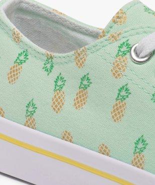 Tennis fille dessus textile recyclé - Les Supaires du 30 au 37 vue6 - Nikesneakers C4G FILLE - Nikesneakers