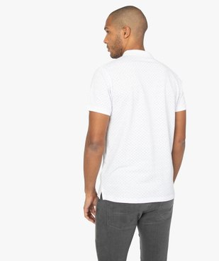 Polo homme à manches courtes et motifs vue3 - Nikesneakers C4G HOMME - Nikesneakers