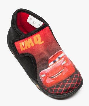 Chaussons bébé garçon semi-montants à scratch Flash McQueen vue5 - CARS - GEMO