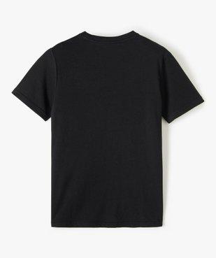Tee-shirt garçon à manches courtes et motif phosphorescent vue3 - GEMO (ENFANT) - GEMO