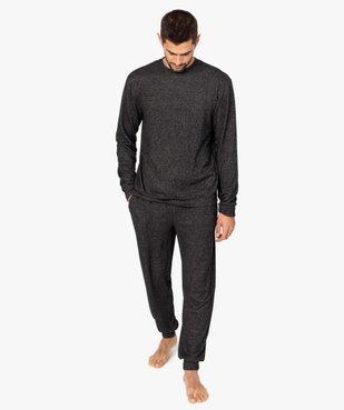 Pyjama homme en maille douillette vue1 - GEMO(HOMWR HOM) - GEMO