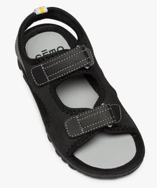 Sandales garçon à semelle crantée et fermeture scratch vue5 - Nikesneakers (ENFANT) - Nikesneakers