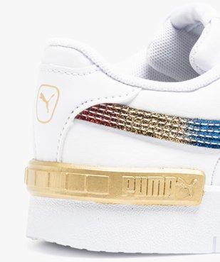 Tennis fille à lacets et bande arc-en-ciel - Puma Jada Olympic vue6 - PUMA - GEMO