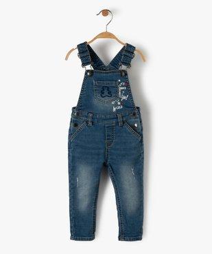 Salopette en jean bébé – Lulu Castagnette vue1 - LULUCASTAGNETTE - GEMO