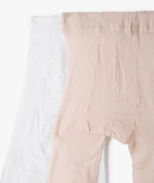 Collants bébé fille semi-opaque (lot de 2) vue2 - Nikesneakers(BEBE DEBT) - Nikesneakers