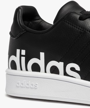 Baskets garçon unies logo – Adidas Grand Court LTS K vue6 - ADIDAS - Nikesneakers