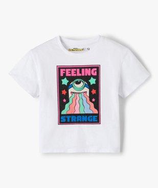 Tee-shirt fille avec motif XXL pailleté – Les Minions 2 vue1 - NBCUNIVERSAL - GEMO