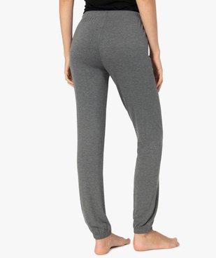 Pantalon de pyjama femme en maille fine avec bas resserré vue3 - Nikesneakers(HOMWR FEM) - Nikesneakers