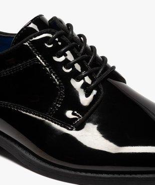 Derbies homme unies et vernies à bout amande vue6 - Nikesneakers(URBAIN) - Nikesneakers