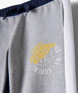 Pantalon de jogging garçon multicolore – Camps United vue3 - CAMPS UNITED - GEMO
